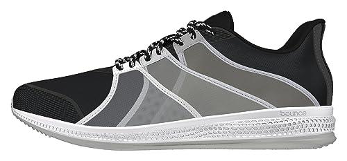 Adidas Gymbreaker Bounce, Zapatillas de Deporte Exterior para Mujer, Negro (Negbas/Nocmét/Grpumg), 42 EU