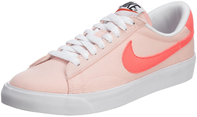 Nike Herren Primo Court Leather Tennisschuhe  39 EU|Plateado (Matte Silver/Matte Silver-action Red)