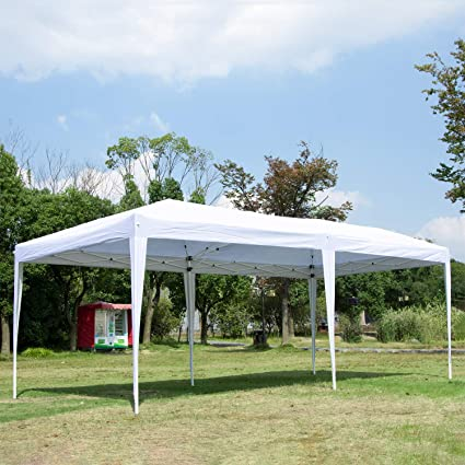 Image Unavailable & Amazon.com : CHARAVECTOR 10 x 20 ft Heavy Duty Pop-up Tent for ...