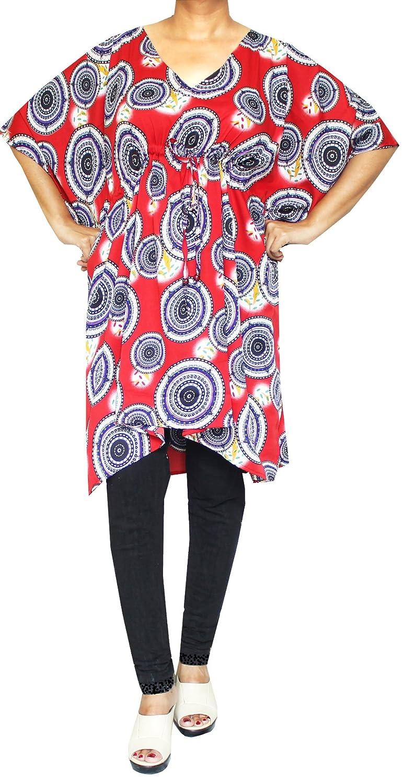 Maple Clothing Printed Womens Caftan Beach Cover Up Dress Short Kaftan sh-kaftan-1