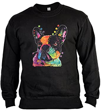 Pop Art Sweater : Französische Bulldogge ::: Sweatshirt für
