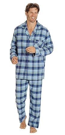 4277c6894a EVERDREAM Sleepwear Mens Flannel Pajamas