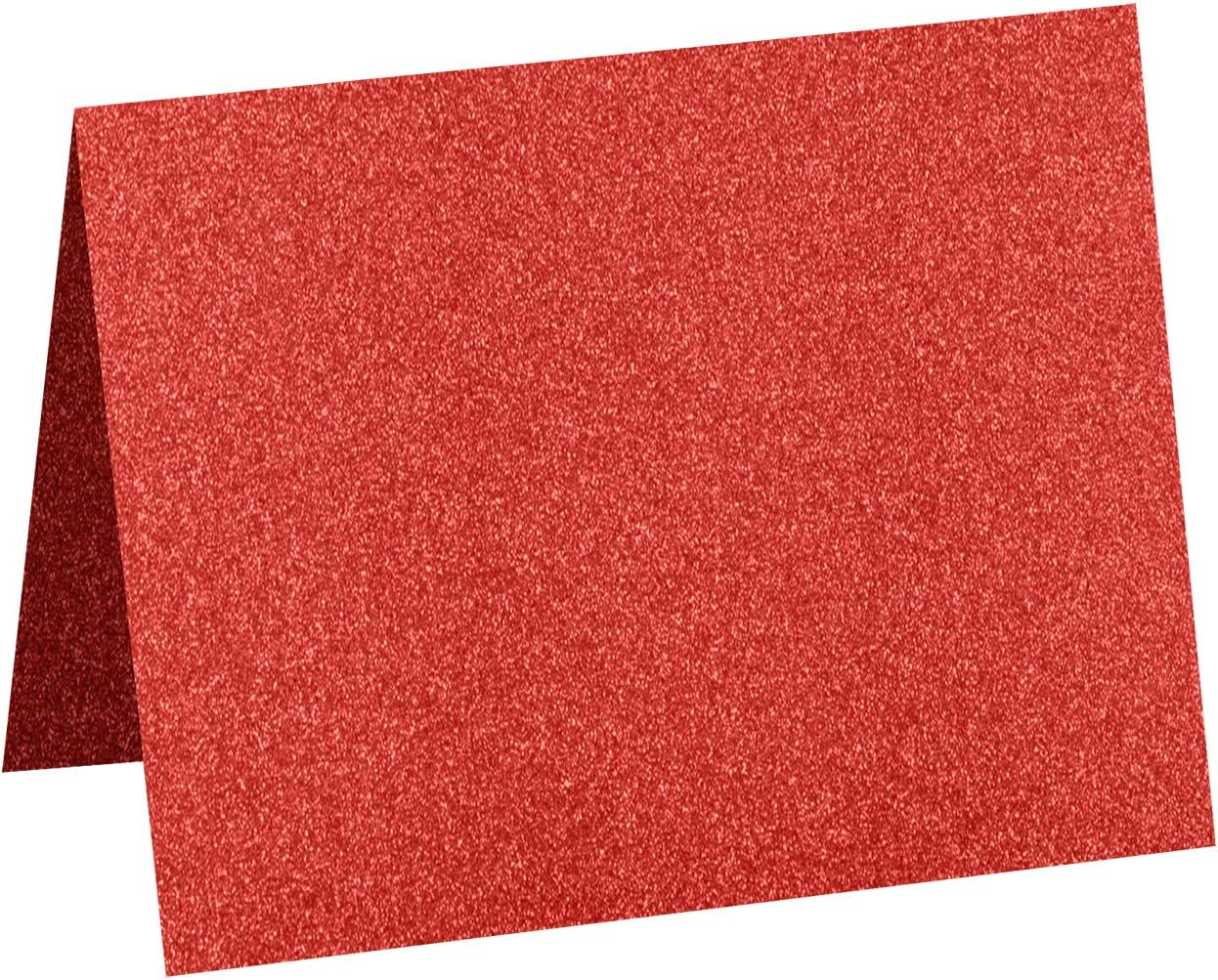 Cards Gold and Office Supplies Scrapbook Rose Gold Sparkle for Crafts 250 Pack LUXPaper A2 Folded Cards in 106lb