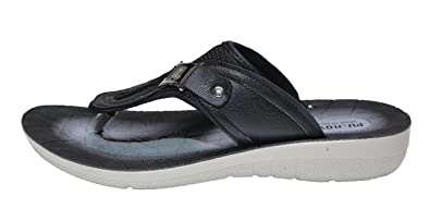 pictures cheap online get authentic for sale Hureen Stylish and Outdoor slipper for Men Black Daily Slippers clearance visa payment new arrival for sale discount clearance FY6OP9