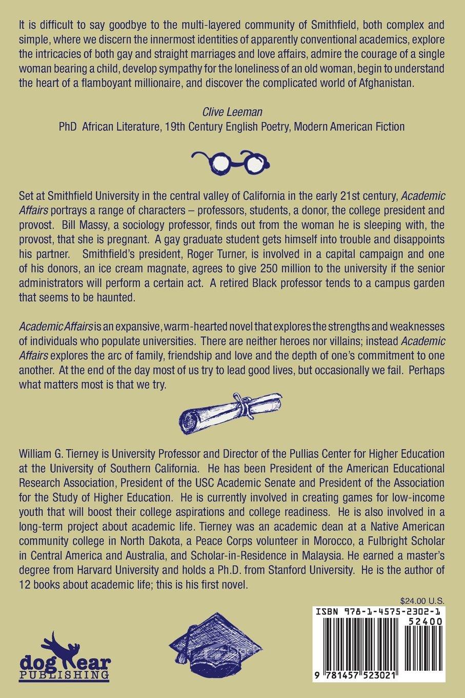 academic affairs a love story william g tierney  academic affairs a love story william g tierney 9781457523021 com books
