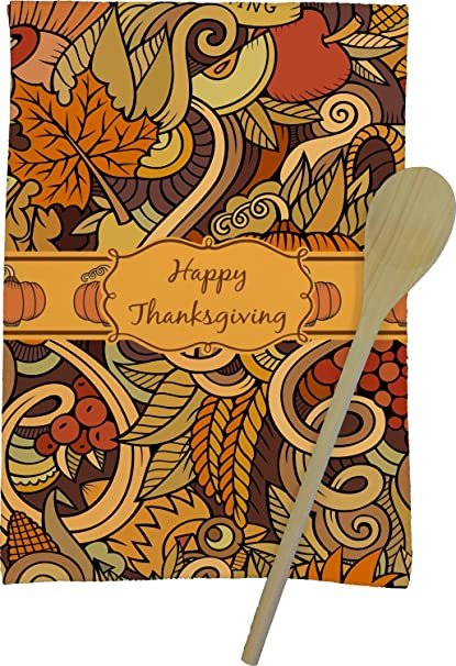 RNK Shops Thanksgiving Kitchen Towel   Full Print (Personalized)