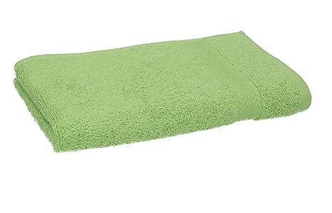 BETZ Toallas cortesía Toallas Invitados Premium tamaño 30x50 cm 100% algodón de Color Verde Manzana