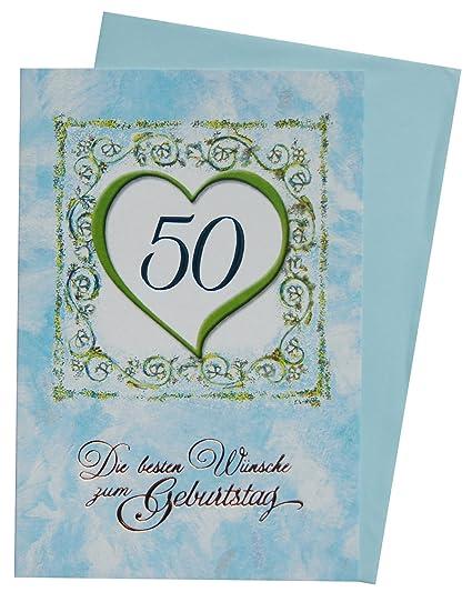 Tarjeta de felicitación - Tarjeta de felicitación de 50 ...