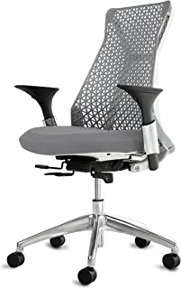 Office Factor Gray Mesh Back Office Chair Ventilated Mesh Executive Chair With Adjustable Arms  sc 1 st  Amazon.com & Amazon.com : Liberty Chair -Free Humanscale Switch Mouse with ...