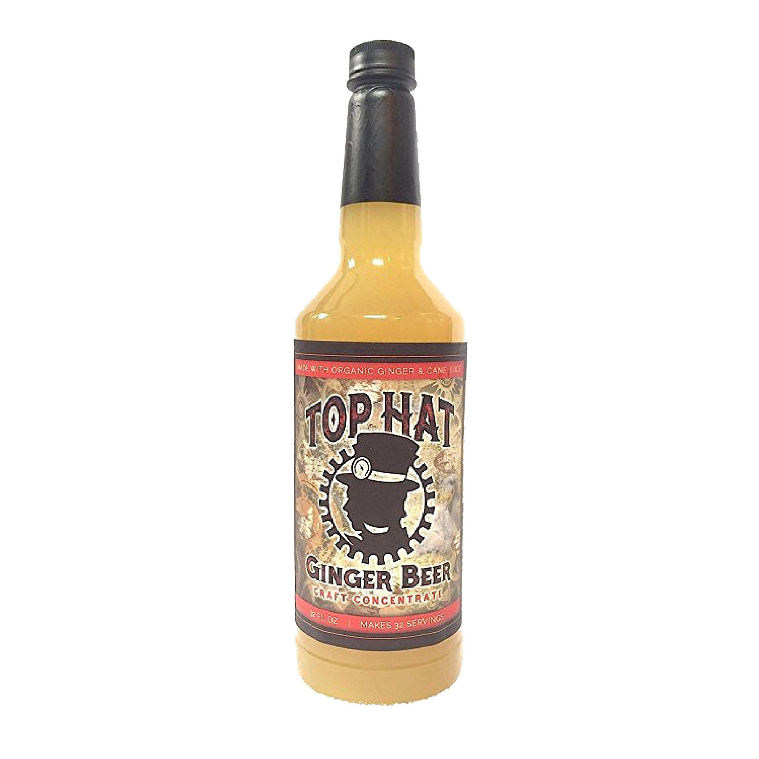 Top Hat Craft Ginger Beer Syrup - 32oz btl (MAKES 32 GINGER BEERS)