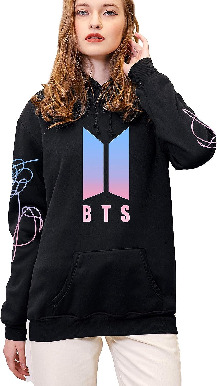 babyhealthy Kpop BTS Love Yourself Hoodie Suga Jimin V Rap-Monster Sweater Jacket Pullover