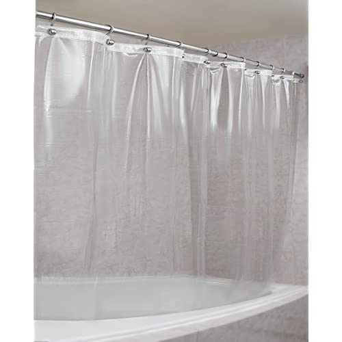 Extra Heavy Clear Shower Curtain Amazon
