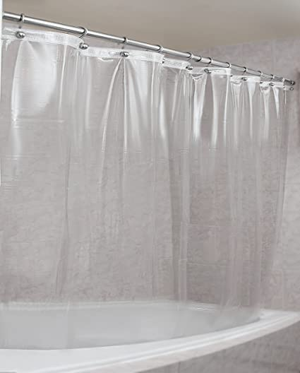 Amazon Epica Strongest Mildew Resistant Shower Curtain Liner On