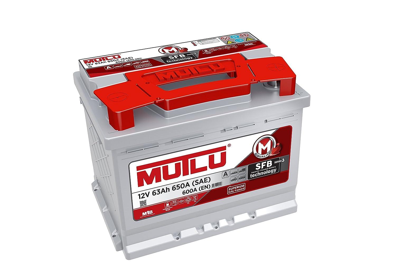 Mutlu 027 Series 3 Car Battery 12V 63Ah 650A (SAE) 600A (EN) Mutlu Aku L2.63.060.A