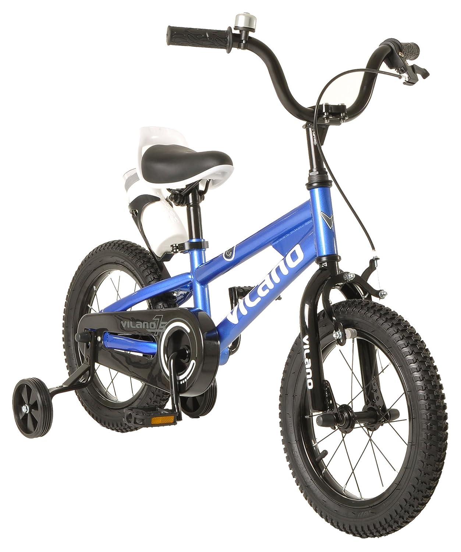 Vilano Boy 's BMXスタイルバイク、子供用16インチ ブルー 575-BMX-16-BLU B01IAA9M8Wブルー