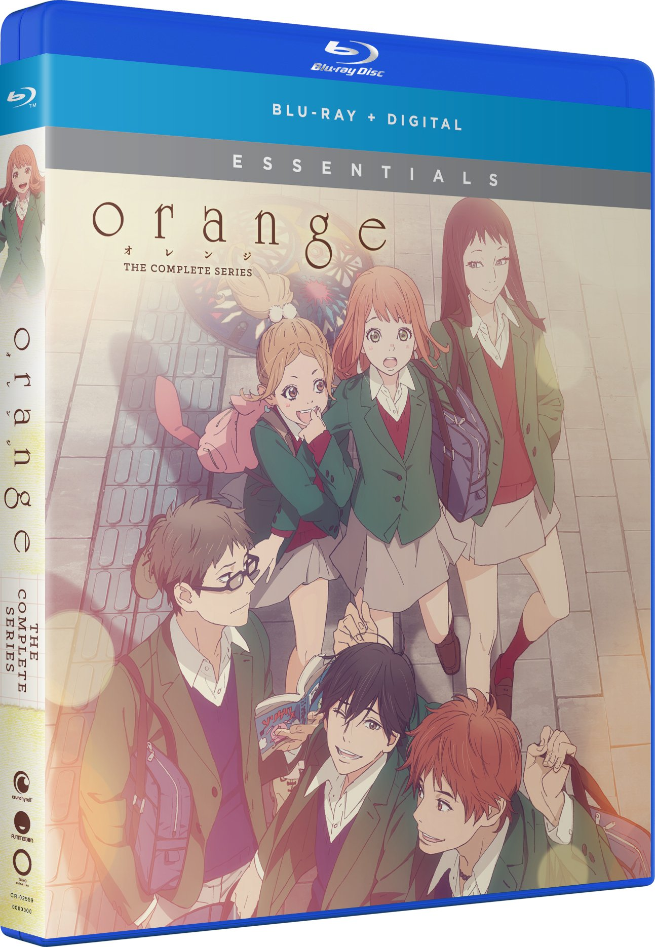 Blu-ray : Orange: The Complete Series - Essentials (Uncut, Subtitled, Slipsleeve Packaging, Snap Case, 2 Pack)
