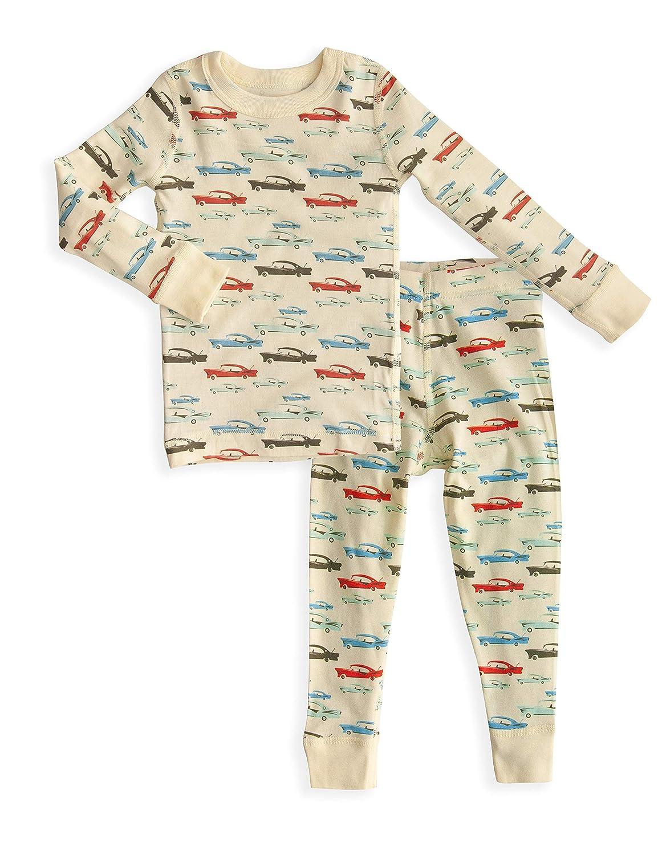 Skylar Luna Boys Long Sleeve Pajama Set - 100% Soft Organic Turkish Cotton 61022-LL-BABY
