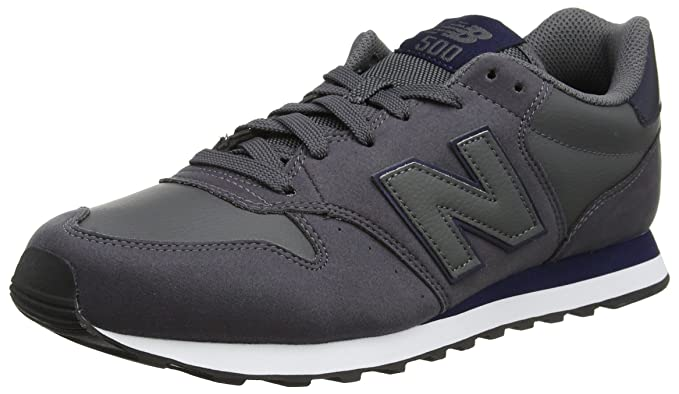 : New Balance 500 Mens Sneakers Grey: Shoes