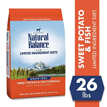 Natural Balance Limited Ingredient Dog Food - Best L.I.D for Dogs with Kidney Disease