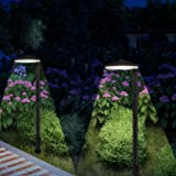 MOON BAY L03547-NA x 2 Landscape Path Light, Low Volt 2.5W White LED, Waterproof for Outdoor Die Cast Aluminum Body and Frost