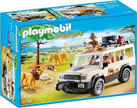 Wie neu. Safari Geländewagen mit Seilwinde Playmobil 6798