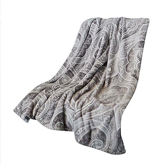 Amazon.com: Manta decorativa de gran tamaño para sofá y cama ...
