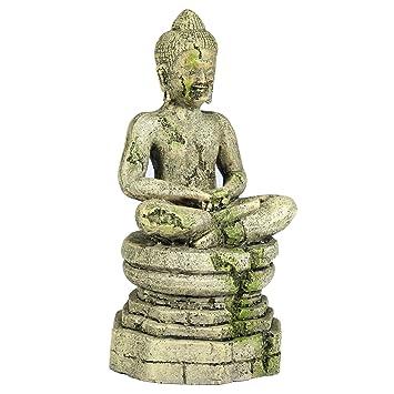 Buy Pet Ting Buddha Aquatic Ornament Aquarium Decoration Vivarium Online At Low Prices In India Amazon In