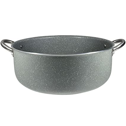 Bergner Masterpro Prochef Visanni Cacerola, Aluminio, Gris, 34 cm