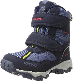 Viking Ondur, Chaussures de Voile Mixte Enfant, Bleu (Navy/Red 510), 27 EU