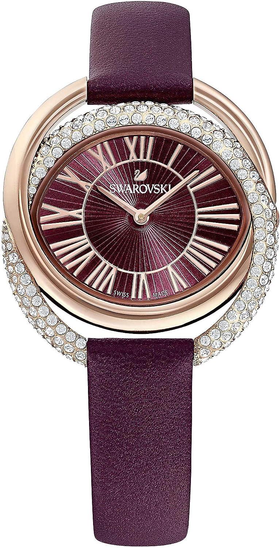Reloj Swarovski 5484379 Duo LS BURBUR/Pro, Burdeo con Brillantes