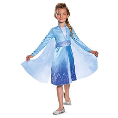 Disguise Disney Elsa Frozen 2 Classic Girls' Halloween Costume: Toys & Games