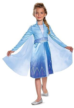 Disguise Disney Elsa Frozen 2 Classic Girls Halloween Costume
