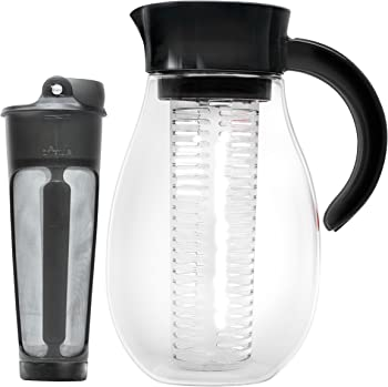Primula Flavor Up 2.7-Qt. Pitcher w/Cold Brew Core and Infuser