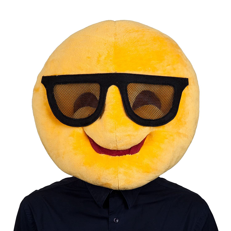 Adultos refrescan las gafas de sol del Emoticon Emoji Smiley ...