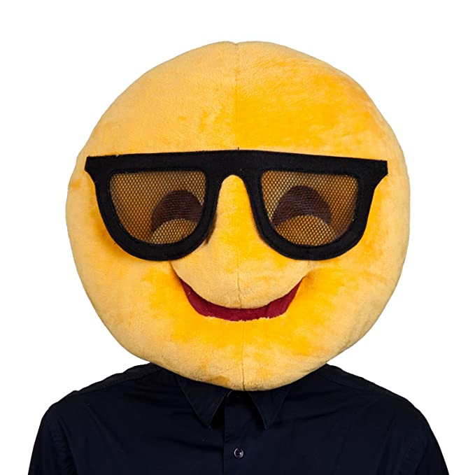 Adultos refrescan las gafas de sol del Emoticon Emoji Smiley ...