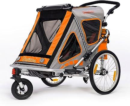 Qeridoo Speed kid2 Niños de remolque de bicicleta (2 plazas ...