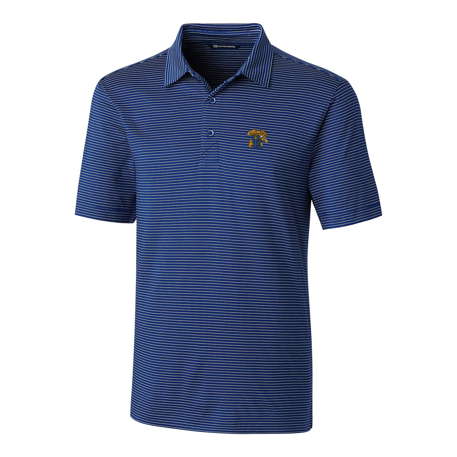 Tour blueee XLarge NCAA Mens Short Sleeve Pencil Stripe Forge Polo