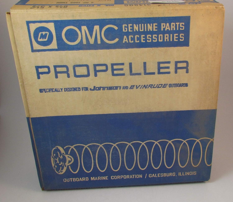 OMC Propeller NOS Old P//N 314806 New P//N 316651