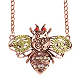 Amazon Price History for:Vintage Heart Pendant Necklace Gear Charm Steampunk Necklaces Pendant Charm Jewelry
