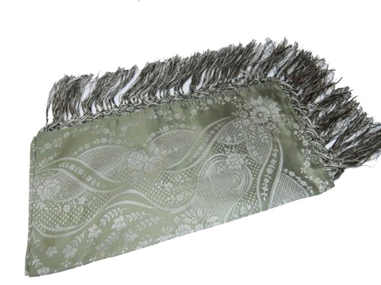 Wiesinger Damen Trachtentuch Seide 2010 lindgrün