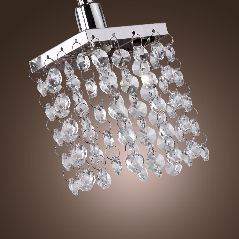 US STOCK LightInTheBox 3 Light Hanging Crystal
