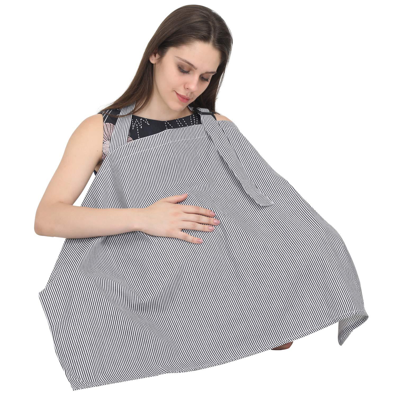 Navy Blue Breastfeeding Cover up Nursing Cover Breastfeeding Scarf Apron