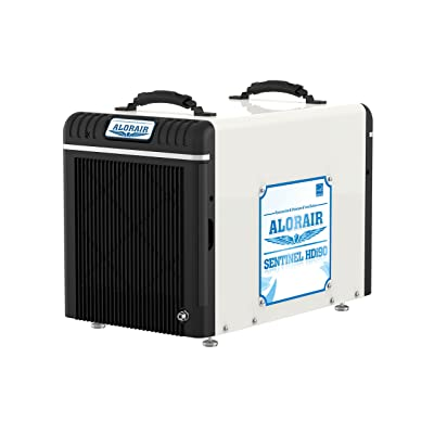 AlorAir Basement/Crawlspace Dehumidifiers 198PPD (Saturation), 90 Pints (AHAM), 5 Years Warranty, Condensate Pump, HGV Defrosting, Energy star Listed,Epoxy coating, Remote Monitoring