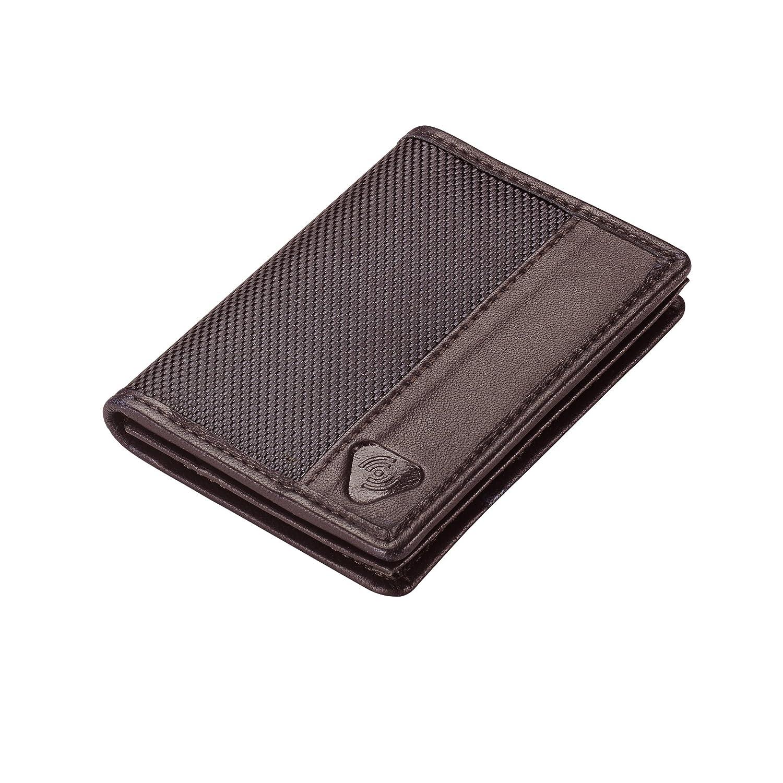 Smoke Lewis N Clark 942SMK Lewis N Clark Ballistic RFID Card Wallet