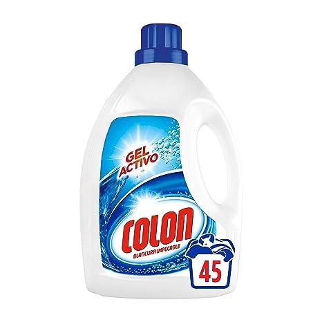 Colon Detergente para Ropa, Líquido Azul - 45 Dosis