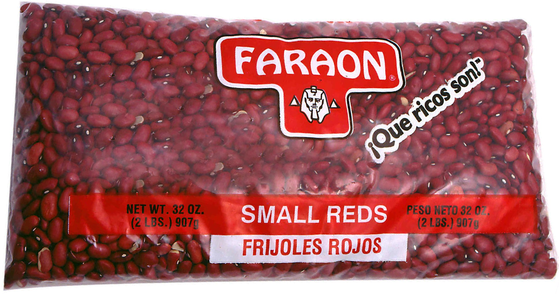 FARAON Seda Small Reds, 2 Pound (Pack of 12)