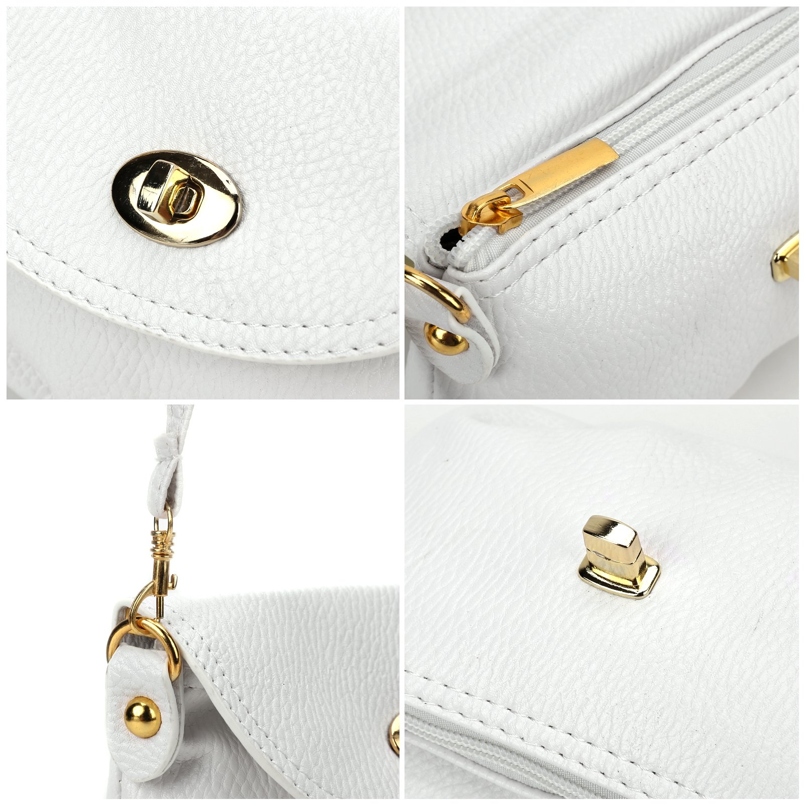 Ladies Mini SMALL Handbag Envelope Crossbody Shoulder Messenger Totes Bag Purse by Anladia (Image #6)