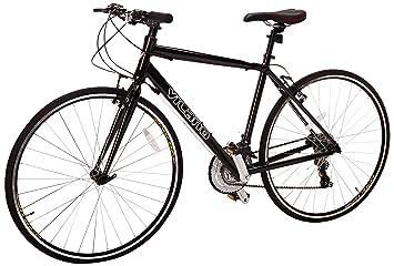 82dcf7f3a98 Vilano Tuono Performance Hybrid Flat Bar Commuter Road Bike (700c ...