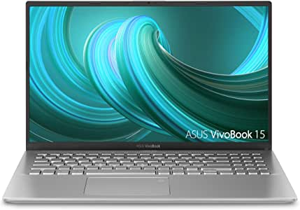 "Asus VivoBook 15 Laptop Delgada y Ligera, 15.6"" Full HD, AMD Quad Core R5-3500U CPU, SSD de 128 G + Disco Duro 1T., Transparente Plateado, 15-15.99 Inches"