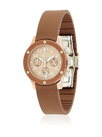 Folli Follie Reloj con Movimiento Miyota Woman Ace-Ace Collection 33 mm: Amazon.es: Relojes